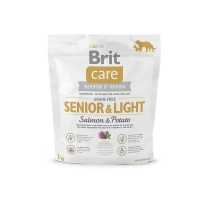 Brit Care Grain0Free Senior Somon si Cartofi, 1 kg