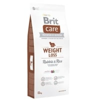 BRIT CARE WEIGHT LOSS CU IEPURE SI OREZ, 12 KG