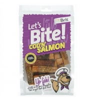 Brit Let's Bite Cod'n'Salmon, 80 g