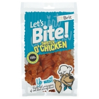 Brit Let's Bite Twister O'Chicken, 80 g