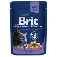 Brit Premium Cat cu Cod, Plic ,100 g