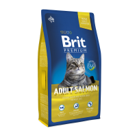 Brit Premium Cat Adult cu Somon, 8 kg
