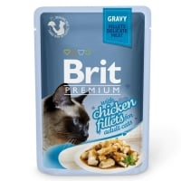 Brit Premium Cat Delicate Pui in Sos, 85 g
