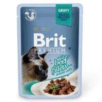 Brit Cat Delicate Beef in Gravy 85 g