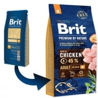 Brit Premium by Nature Adult M, 1 kg