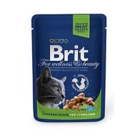 Brit Premium Sterilised cu Pui, 100 g