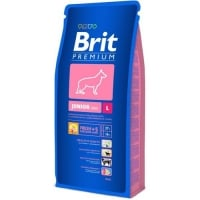 Brit Premium Junior L, 15 kg
