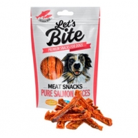 Brit Lets Bite Meat Snacks Pure Salmon Slices 80 g