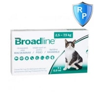 Broadline Cat L, 2.5-7.5 kg, 3 pipete