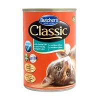 Pachet Butcher's Cat Classic, Peste, 6x400 g