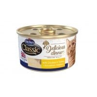 Butcher's Cat Delicious Dinner Mousse, Pui si Curcan, 85 g