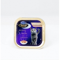 Pachet Butcher's Cat Pro S Delicious Dinner, Somon, 6x100 g
