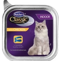 Butcher's Cat Pro S Indoor, Pui, 100 g