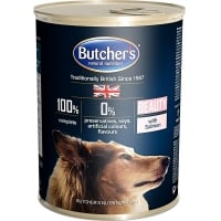 Pachet Butchers's Dog Blue Beauty, Somon, 6x400 g