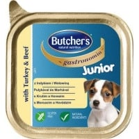 Butcher's Dog Junior Gastronomia Pate cu Curcan, 150 g