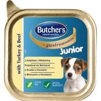 Pachet Butcher's Dog Junior Gastronomia Pate cu Curcan, 6x150 g