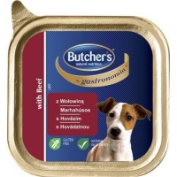 Pachet Butcher's Dog Gastronomia Pate cu Vita, 6x150 g