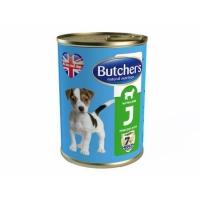 Pachet Butcher's Dog Junior cu Miel, 6x400 g