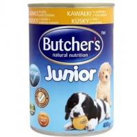 Pachet Butcher's Dog Junior cu Pui, 6x400 g