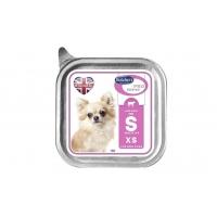 Butcher's Dog Pro Series Sensitive Pate, Talie Mica si Medie, Vita si Orez, 100 g