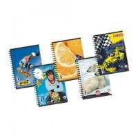 Caiet Spira A5 Dictando Color 80 file Pigna