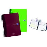 Caiet A4, spirala dubla, 120 file - 90g/mp, coperta carton, OXFORD Essentials Europeanbook - dictand