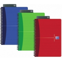 Caiet A5, spirala dubla, 90 file - 90g/mp, coperta carton, OXFORD Essentials - matematica
