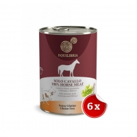 Pachet Conserve Equilibria Dog Single Protein Cal 6 x 410 g