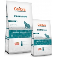 Calibra Cat HA Senior & Light cu Curcan, 7 kg + 2 kg