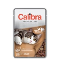 Calibra Cat Pouch Premium Adult Lamb and Poultry 100 g