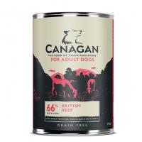 Pachet 4 Conserve Canagan Dog Grain Free Vita 395 g