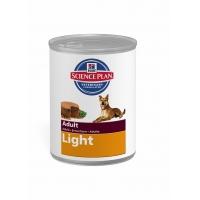 Pachet 5 Conserve Hill's SP Canine Adult Light cu Pui 370 g