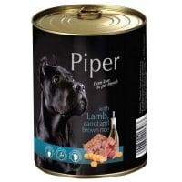 Piper Adult cu Carne de Miel, Morcovi si Orez Brun, 800 g