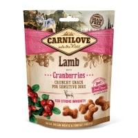 CARNILOVE Crunchy Snack, Miel cu Afine, recompense funcționale fără cereale câini, imunitate, 200g