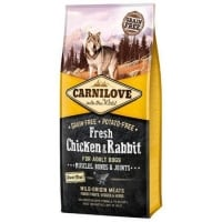 Carnilove Fresh Chk & Rabbit, Bones & Joints For Adult Dogs 12 Kg