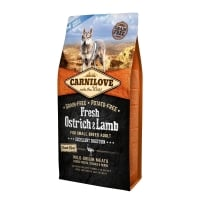 Carnilove Fresh Ostrich & Lamb For Small Breed Dogs 1.5 Kg