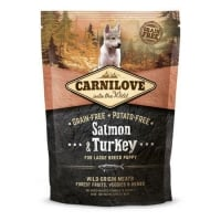 Carnilove Puppy Large Breed Somon si Curcan, 1.5 kg
