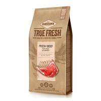 CARNILOVE True Fresh Adult S-XL, Vită proaspătă cu mazăre și dovleac, hrană uscată fără cereale câini, 11.4kg