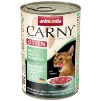 Carny Kitten Pui si Iepure 400 g