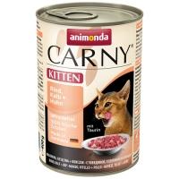 Carny Kitten Vita Vitel si Pui 400 g