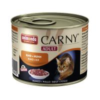 Carny Adult Vita si Pui 200 g