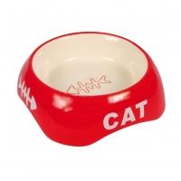 Castron Ceramic Pentru Pisici 24498, 0.2 L, 13 Cm