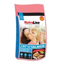 Nutraline Cat Grain Free Somon, 10 kg
