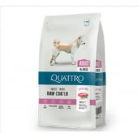 Quattro Premium Dog Adult All Breed Miel si Orez,12 kg