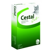 Cestal Cat, 8 cpr masticabile