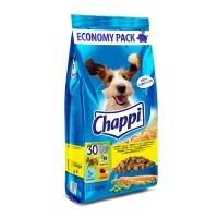 CHAPPI Pasăre și Legume, pachet economic hrană uscată câini, 13.5kg x 2