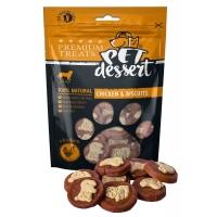 Recompense Pet's Dessert, Pentru Caini, Chicken&Biscuits, 80 g
