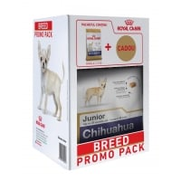 Kit Breed Royal Canin Chihuahua Junior, 1.5 kg+ o Paturica Cadou