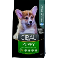 Cibau Puppy Medium, 2.5 Kg