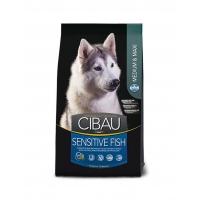 Cibau Sensitive Medium/Maxi cu Peste, 2.5 Kg